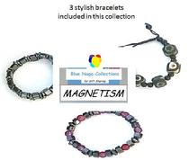 'MAGNETISM' gemstone gifts from Blue Naga Collections, this one includes Dzi bead bracelet