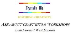 EMERGENCE: BNC GIFTS® ~ UK Registered Trademark of Isabela Wesoly, ARTS & CRAFTS creative sessions in West London. Contact details at the bottom of page