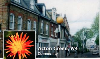 Acton Green, Facebook Community page. Old photographs, new photos, Stag Pub, Acton Lane. Cardinal Newman RC School, Rothschild school.